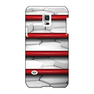 Samsung Galaxy S5 Mini KWD4551GFxE Allow Personal Design Vivid Red Shelf Pictures Shockproof Hard Phone Covers -luoxunmobile333