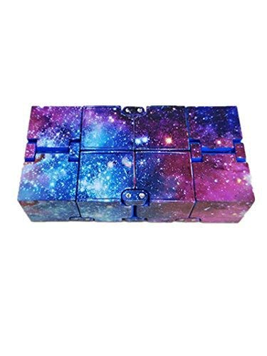 plceo Infinity Fidget Kids and Adults, Relieve Stress and Anxiety Cool Hand Mini Kill Time Toys Infinite Cube for Add, ADHD