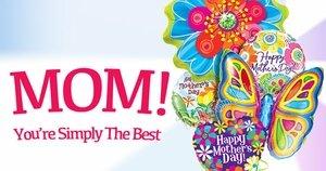 Mother's Day Balloons Bulk Pack 25 Pack