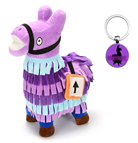 Anime World Gifts - Loot Supply Llama 20cm Stuffed Plush Toy + Keychain