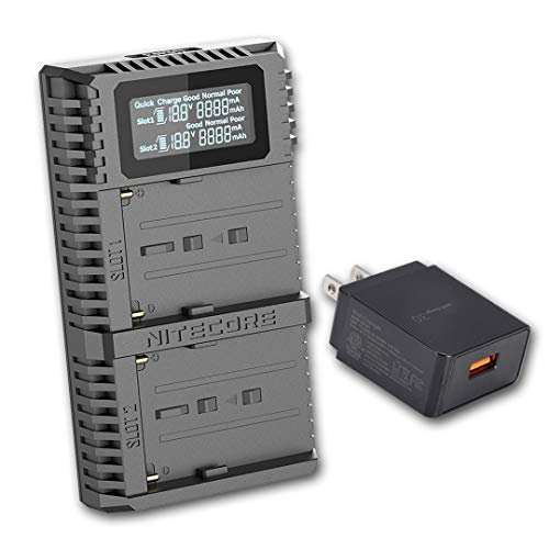 Fast Rapid Double Twin Battery Charger USB Port For Makita DC18RC LXT 7.2V 18V