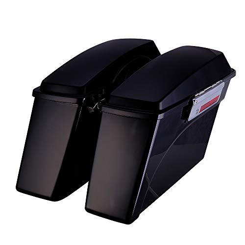 (Hard Saddlebags for Electra Glide Road King Street Glide Touring 1993-2013 5