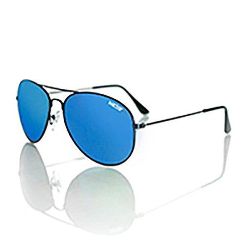 Nectar Classic Metal Aviator Sunglasses w/ Polarized Lenses & UV Protection (Black Frame, Blue and Green Mirror EuphoricHD Polarized - Nectar Sunglasses Amazon