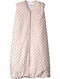 SleepSack Plush Dot Velboa Wearable Blanket, Pink, Medium