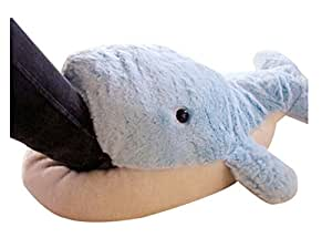 Winter Warmth Household Warmth Plush Slippers, dolphin blue
