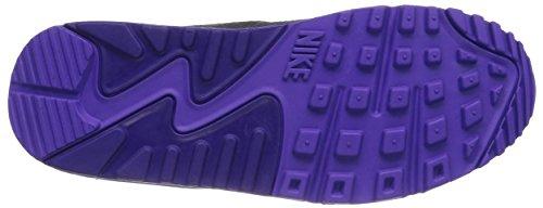 Nike Air Max 90 - Zapatillas para mujer BLK/CRT PRPL-HYPR GRP