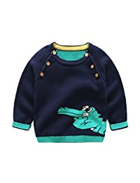 Children's Clothing Winter Baby Boy Sweater Casual Long Sleeve Cotton Pullover