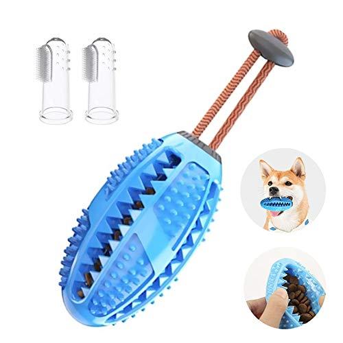 Bola de juguete para perros juguete para masticar 2 cepillos de dientes