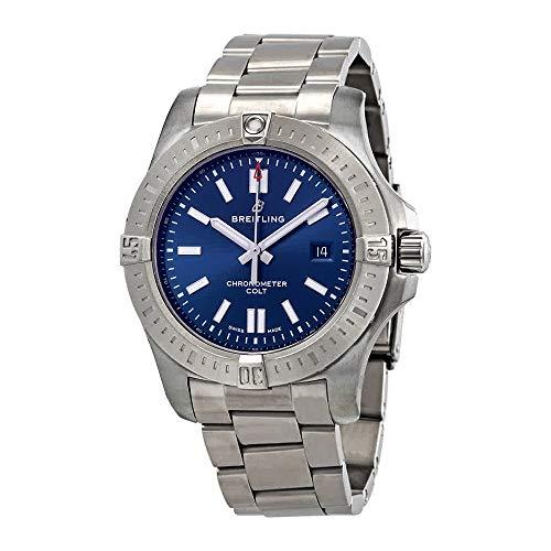 Breitling Chronomat Colt Automatic 44 Blue Dial Men