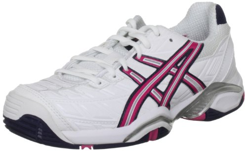 Asics WoMen's Gel Challenger 8 Womens Tennis Shoe White/Magenta/Eclipse
