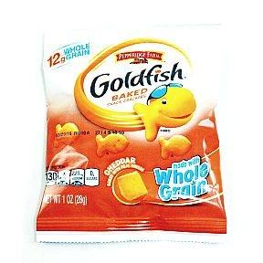 Pepperidge Farm Goldfish Baked Crackers Whole Grain Cheddar (case of 60)