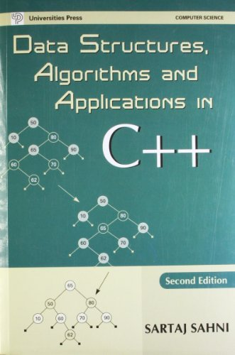 Data Structures Algorithms And Applications In C++ by Sahni Sartaj Sartaj Sahni (2005-08-02)