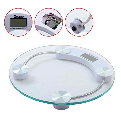 Safstar Digital Bathroom Scale Body Weight LCD Display Scale