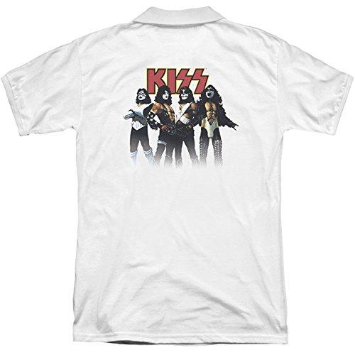 Kiss Herren T-Shirt Opaque weiß weiß