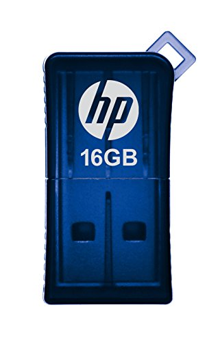 HP v165w 16GB USB 2.0 Flash Drive - Blue - P-FD16GHP165-GE