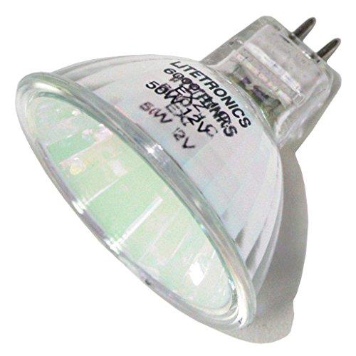 Litetronics 29170 - L-3821G 50 MR16 FL Green MR16 Halogen Light Bulb