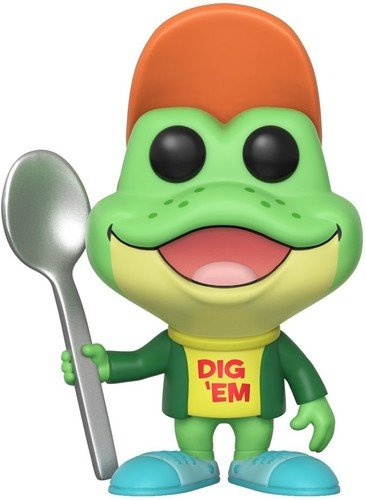 Dig Em' Frog Collectible Figure, Multicolor ()