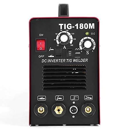 Yogasada TIG-180M 230V Soldador eléctrico Profesional 2 en 1 Arco de Alambre argón máquina de Soldadura máquina de Soldadura del zócalo de la UE: Amazon.es: ...