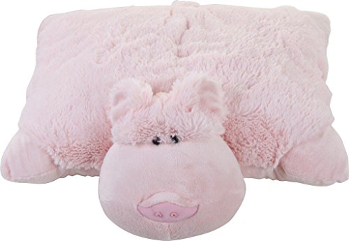 Pillow Pets Wiggly Pig - As Seen on TV Plush-Pillow