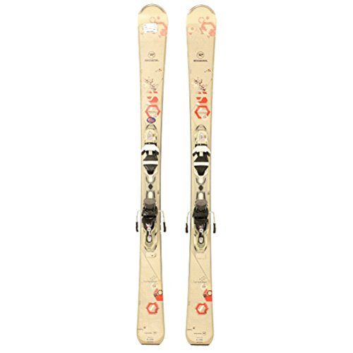 Used 2015 Womens Rossignol Temptation 84 Skis with Rossi Xelium 120 Bindings A - (146 Cm Skis)