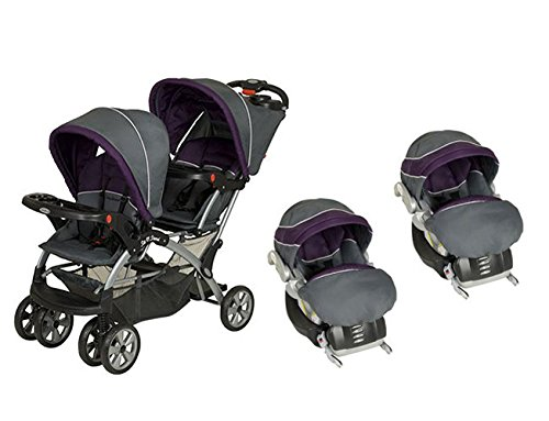 BabyTrend Sit N Stand Double Travel System, Elixer by Baby Trend