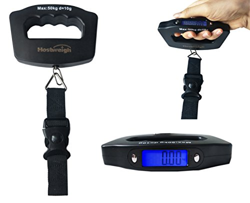 Scale, Digital Travel Hanging Luggage Scale LCD Luggage Weight Hanging Scale KG LB OZ