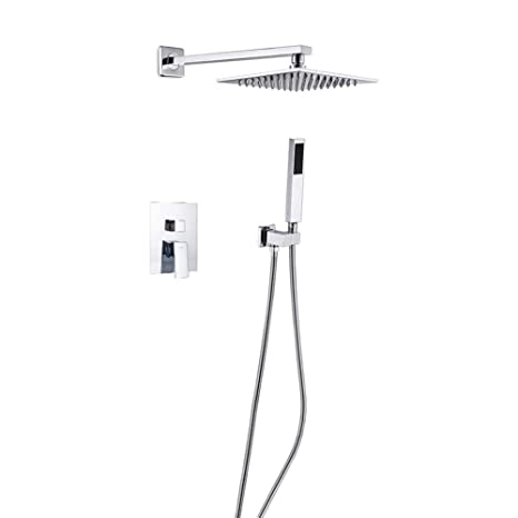 Nickel Brushed Bathroom Shower Faucet Waterfall And Rainfall Shower Head Shower Panel Single Handle Tub Mixer Tap Ideal Gift For All Occasions Bathroom Fixtures Shower Equipment