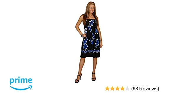 a17a64dca46 1 World Sarongs Womens Sundress with Hibiscus Design in Your Choice of  Design
