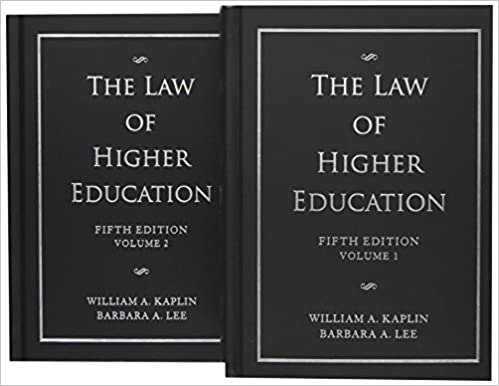 A Legal Guide for Student Affairs Professionals, 2nd Edition
