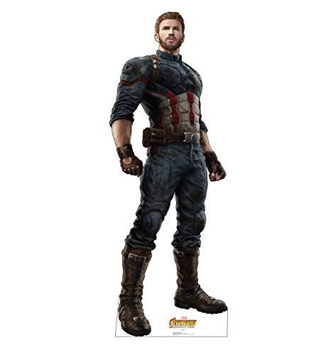 Advanced Graphics Captain America Life Size Cardboard Cutout