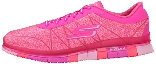 Skechers Mujer Rosa Sneakers Ability Flex Go WwwfPqFvH1