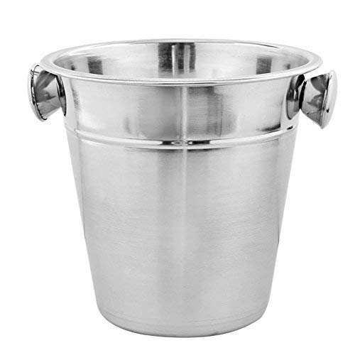 Kosma Stainless Steel Champagne Bucket | Beverage Bucket | Ice Bucket Wine Cooler, Bottle Cooler - 21 x 21cm - Wholesale Champagne Buckets