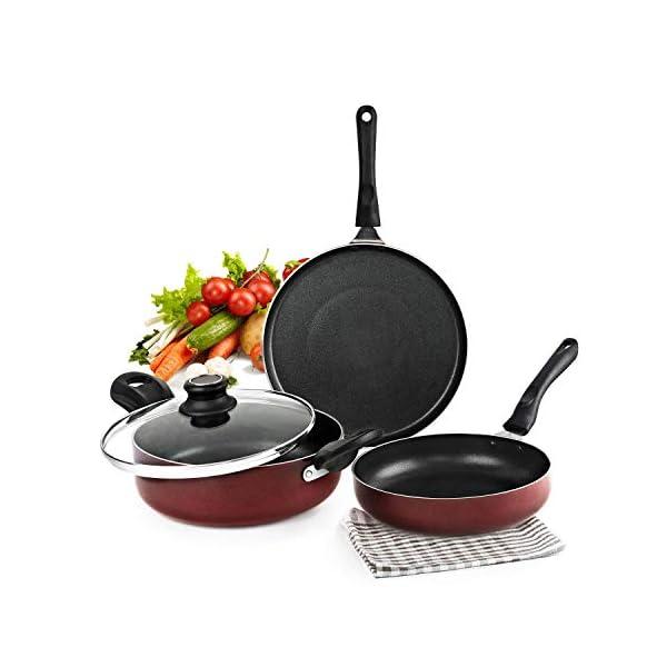 Non-Stick Aluminium Cookware Set,