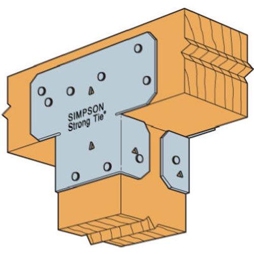 (Simpson Strong Tie AC4 1 1 1 18-Gauge 4-Inch Adjustable Post Cap)