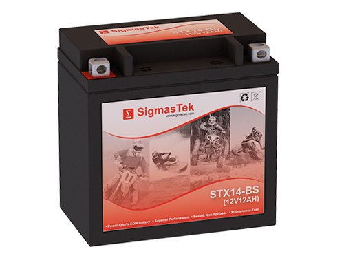 12 Volt 12 Amp Hour Sealed Lead Acid Battery Replacement with NB Terminals by SigmasTek STX14-BS
