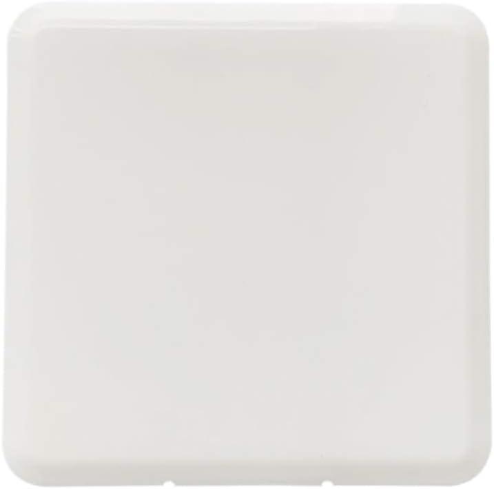 Blanco Muyunnet Caja de m/áscara,Caja de Almacenamiento de m/áscara de Moda Caja de Almacenamiento de m/áscara