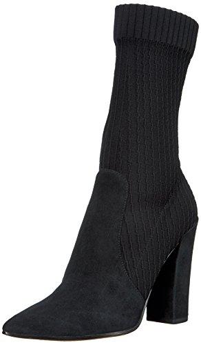 Dolce Vita Women's Elon Fashion Boot, Black Suede, 8.5 Medium US by Dolce Vita