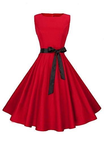 Red Black Dress - 4