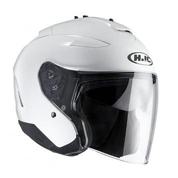HJC 11832907 Casco de Moto, White, Talla S