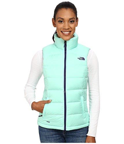 - The North Face Women's Nuptse 2 Vest Surf Green (Prior Season) Large