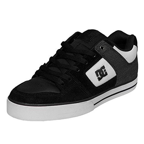 DC Shoes Pure Se M, Zapatillas de Skateboarding para Hombre Negro