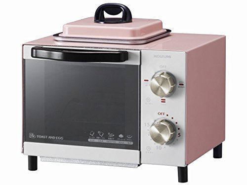 KOIZUMI Toaster oven With fried eggs function KOS-0703 (Pink)