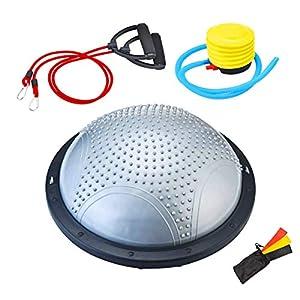 NORDERBRØ - Balance Ball, Palla Fitness per Training PRO con Cinghie Laterali, Pilates, Stabilità, Allenamento… 2 spesavip