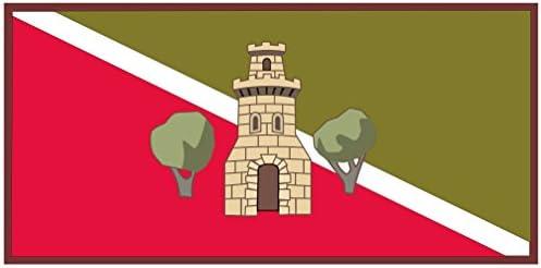 magFlags Bandera Large Torrijos, en Toledo España | Bandera Paisaje | 1.35m² | 80x160cm: Amazon.es: Jardín