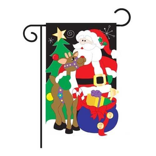 Santa's Pal Garden Flag (Santas Pals)