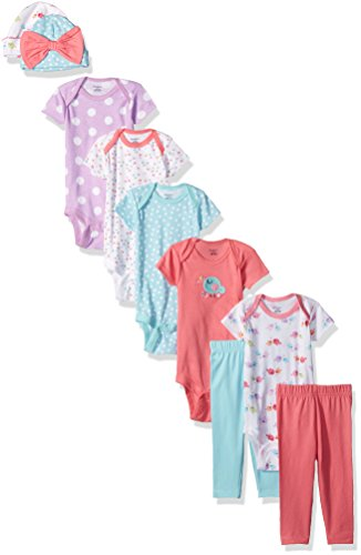Gerber-Baby-Girls-9-Piece-Playwear-Bundle