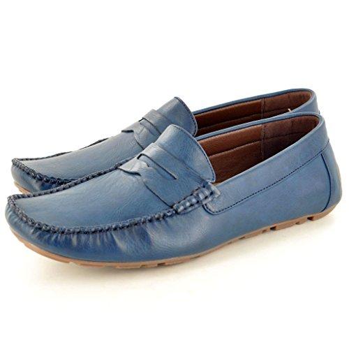 My Perfect Pair - botas sin cordones hombre Azul - azul