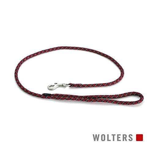 Wolters | Cityleine Everest reflektierend rot/schwarz | L 100 x B 0,9 cm
