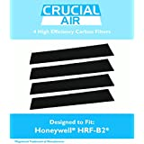 4 High Quality Honeywell Carbon Filters, Fits Most Honeywell Towers and Tabletops, HHT-08X, HHT-090, HPA-X50, HHT-X55, HHT-14X, and More, 16200 and Vicks V9071, Compare To Part no. HRF-B2, by Think Crucial