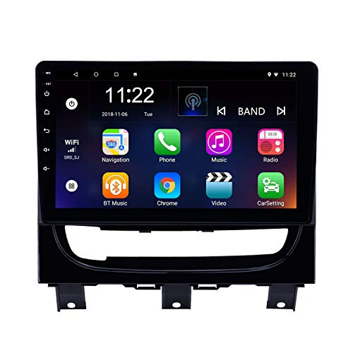 Strada Gps - Harfey H6180K Android 8.1 Bluetooth Car Radio 9 inch HD Touch Screen Head Unit for 2012-2016 Fiat Strada/Cdea Stereo Upgrade GPS Navigation Support 3G WiFi Digital TV Rearview Camera